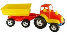 я Трактор с Прицепом Большой KW-07-709