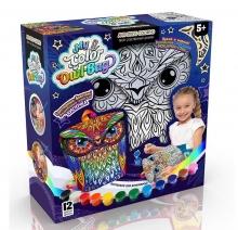 я Набор Рюкзачок - сова раскраска My Color Owl-Bag DANKO TOYS