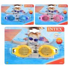 . INTEX Очки для плавания 55601, 12шт в ящ